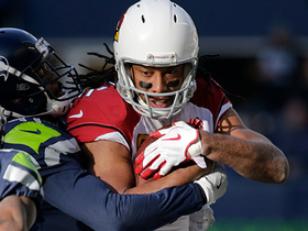 Fitzgerald nearly falls, makes incredible adjustment for first down catch