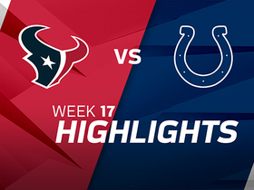 Texans vs. Colts highlights | Week 17