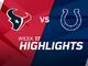 Watch: Texans vs. Colts highlights | Week 17