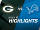 Watch: Packers vs. Lions highlights | Week 17