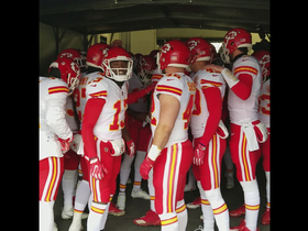 Chiefs get amped up before game vs. Broncos