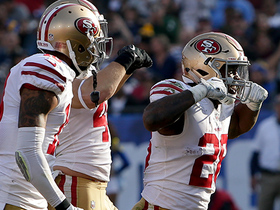 Watch: Carlos Hyde gets into the end zone with a little help from his team
