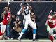 Watch: Funchess rips ball away from Alford on 4-yard TD toss from Cam