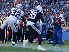 Antonio Gates gets two feet down for a tough 20-yard catch