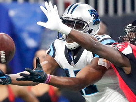 Funchess makes outstanding 44-yard catch with defender all over him