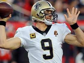 Drew Brees goes deep to Ted Ginn for 23 yards