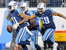 Titans punch ticket to playoffs with Byard interception