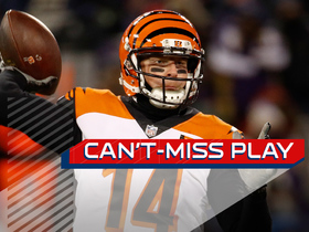 Watch: Can't-Miss Play: Dalton's CLUTCH fourth-down TD pass gives Bengals lead