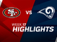 Watch: 49ers vs. Rams highlights | Week 17