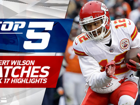 Top 5 Albert Wilson catches | Week 17
