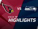 Watch: Cardinals vs. Seahawks highlights | Week 17