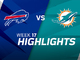 Watch: Bills vs. Dolphins highlights | Week 17