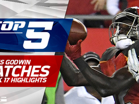 Top 5 Chris Godwin catches | Week 17