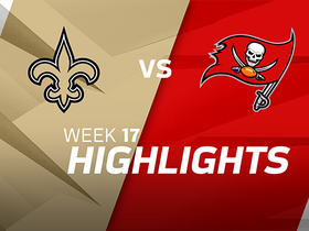 Saints vs. Buccaneers highlights | Week 17