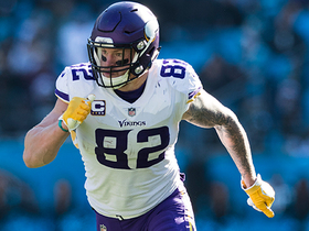 Kyle Rudolph explains how Vikings bounced back from last year