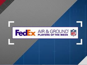 Week 17 FedEx Air & Ground nominees