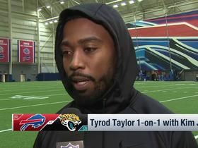 Tyrod Taylor: 'The goal is never just to make it to the playoffs'