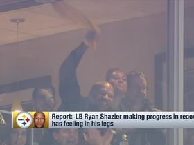 Watch: Ryan Shazier has regained feeling in his legs