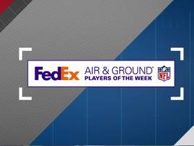 Watch: Week 17: FedEx Air and Ground winners