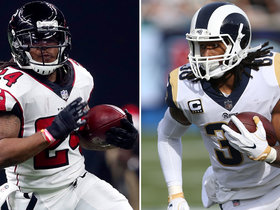 Warner's Corner: Devonta Freeman vs. Todd Gurley