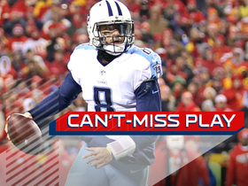 Watch: Mariota Magic! Titans QB throws and CATCHES his own TD pass