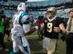 Watch: Who will have a better game: Cam Newton or Drew Brees?