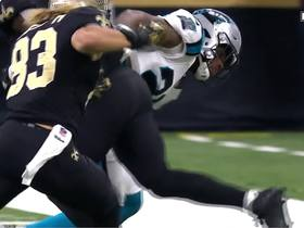 Watch: Saints' fourth down gamble doesn't pay off as Brees' pass falls incomplete