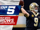 Watch: Top 5 Drew Brees throws | NFC Wild Card