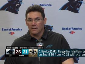 Rivera: 'I didn't get the explanation' on Cam's intentional grounding call