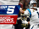 Watch: Top 5 Cam Newton throws | NFC Wild Card