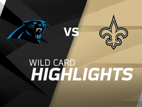 Panthers vs. Saints highlights | NFC Wild Card