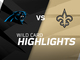 Watch: Panthers vs. Saints highlights | NFC Wild Card