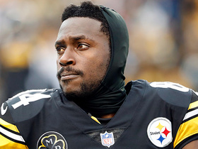 Antonio Brown on if he'll play this weekend: 'We'll see'