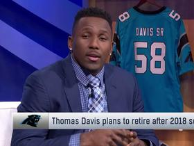 Thomas Davis explains the factors behind decision to retire after 2018 season