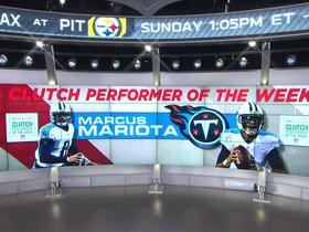 Marcus Mariota wins Castrol EDGE Clutch Performer