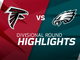 Watch: Falcons vs. Eagles highlights | NFC Divisional Round
