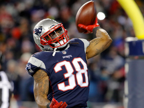 Watch: Bolden walks into the end zone to give Pats three-score lead