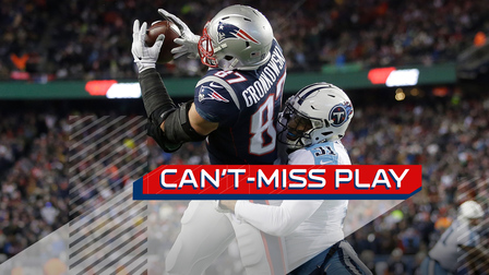 Can't-Miss Play: Gronk BODIES Byard for powerful TD grab