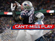 Watch: Can't-Miss Play: Gronk BODIES Byard for powerful TD grab