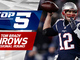 Watch: Top 5 Tom Brady throws | AFC Divisional Round