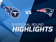 Watch: Titans vs. Patriots highlights | AFC Divisional Round