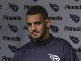 Marcus Mariota says he's 'embarrassed' by playoff loss to Patriots