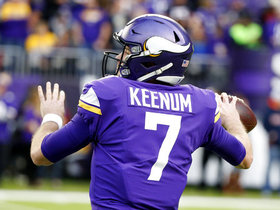 Rapoport: Vikings will 'potentially' franchise tag Case Keenum in offseason