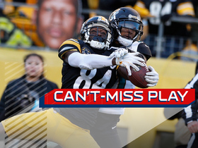 Watch: Can't-Miss Play: Big Ben uncorks EPIC fourth-down TD to A.B.