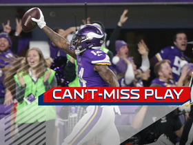 Watch: Can't-Miss Play: Diggs MIRACULOUS last-second TD SEALS Vikings win