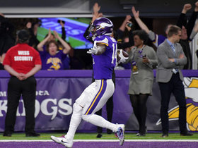 Burleson explains why Diggs' TD vs. Saints was 'routine', not 'luck'