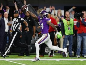 McKinnon thought Diggs would run out of bounds, too