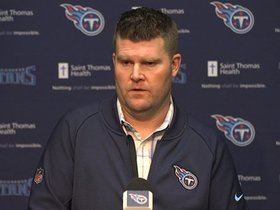 Watch: Jon Robinson Addresses Coaching Change