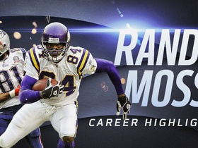 Watch: Randy Moss career highlights | NFL Legends