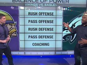 Watch: Balance of Power: Do the Vikings or Eagles have the edge?